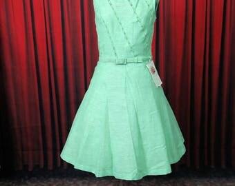 Travelon Deadstock Green 1960's Dress