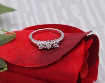 White Gold Diamond Engagement Ring, Womens Rings, Diamond Rings Women, Engagement Ring, Diamond Engagement, Gold Rings Women, Mother's Day