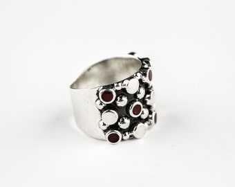 P20 Ring Vintage Taxco Mexican 925 Sterling Silver Mexico