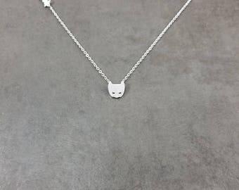 Batman [SILVER] Plated Necklace Gift Box Superhero Supervillain Dark Knight Gotham City Mask Batarang Comics Games Bruce Wayne