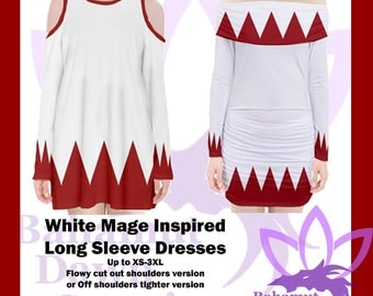 White Mage Inspired Dresses