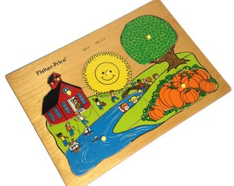 Wood puzzle by Fisher Price