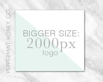 ADDITIONAL File Request - Bigger Size Logo - 2000px