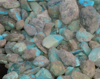 Turquoise, Rough for Cabbing,Top Quality Arizona, New Mexico, Nevada, 1lb. lot, High Quality, Lapidary Grade for jewelry making
