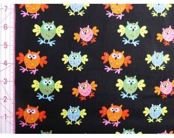 UK Shop: Flappy Owls Copenhagen Fabrics Organic Cotton