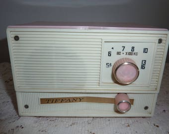 Tiffany plastic radio
