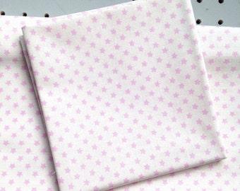 Tilda fabric - Star Pink from Tilda basics
