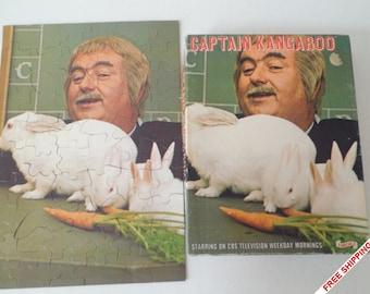 1971 E.E. Fairchild Corporation Captain Kangaroo Puzzle #4430//COMPLETE//Robert Keeshan//Child's Puzzle