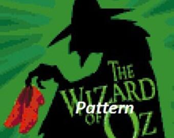 Wizard of Oz #2. Cross Stitch Pattern. PDF Files.
