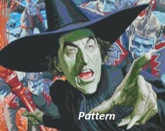 Wizard of Oz #5. Cross Stitch Kit.