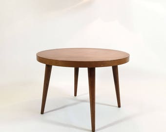 Coffee table, oak, 1960-1970.