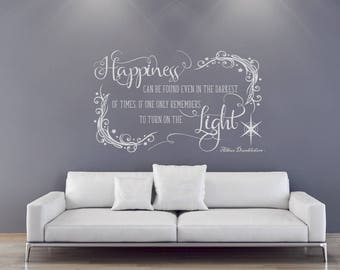 Harry Potter Wall Decal Etsy - Wall decals harry potter