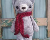 CUSTOM LISTING for OFFBEATCHIC, crochet teddy bear, handmade