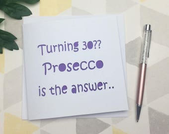 30th birthday card, 30th card, 30th birthday, card for 30th, 40th card, 40th birthday EDITABLE, card for friend, 30th birthday card friend