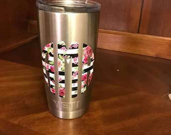 Women's Yeti Cup Window Car Decal Lilly Pulitzer and more