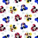 Toddler / Travel Personalized Pillow Case made with Mickey Mouse One and Only fabric