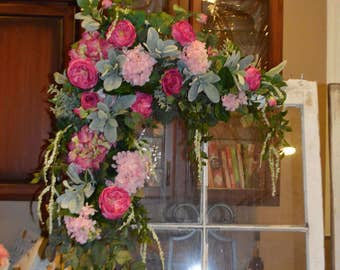 Wedding Arch, Floral Arch, Wedding Arch Decoration, Arch Flower , Wedding flower Chuppah flower, Peony Rose arch, Peony Arch, arbor flower