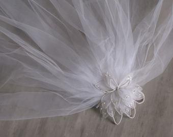 Vintage White Bridal Veil