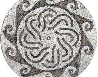Roman Mosaic Accent Tile - Gaya