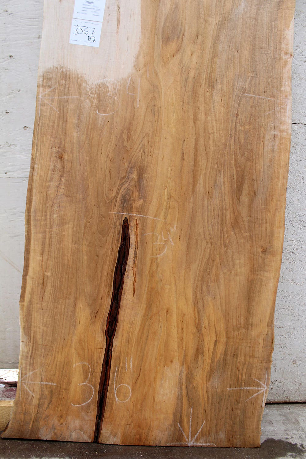 how to finish a raw wood slab