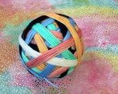 Ready to Ship: Charity Listing (May) - Yummy Sushi Pajamas - Hand Dyed Self-Striping Sock Yarn