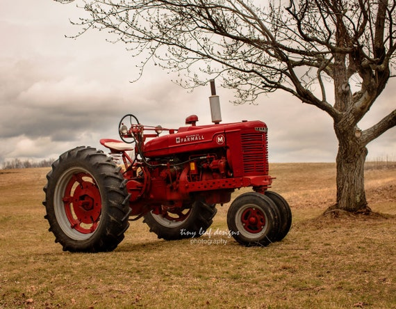 Farmall M Tractor Original Fine Art Photograph 5x7 8x10 11x14