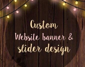 Banner design, website banner design, Shop banner design, Store banner design, slider design, custom slider, custom banner for website