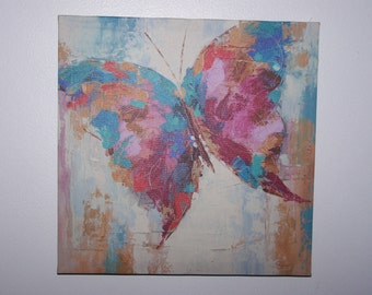 Butterfly In Flight Painting