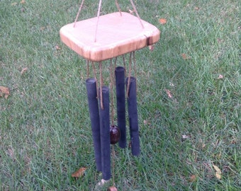 Reclaimed Wood Garden Wind Chime