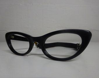 Vintage 1950's Children's Criss Nylon Cat Eye Eyeglasses - FREE SHIPPING