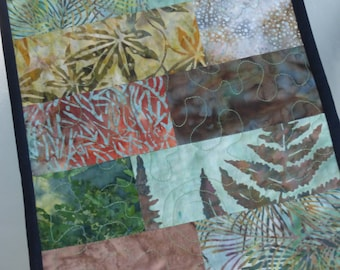Neutral batik table runner. Create a warm, inviting space with this beautiful table runner.