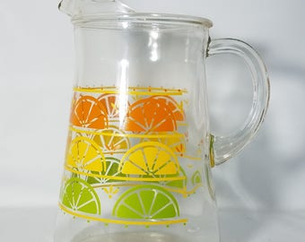 Glass Juice Pitcher Virus Carafe