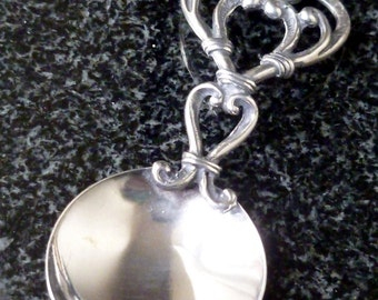 Vintage Silver Tea Caddy Spoon
