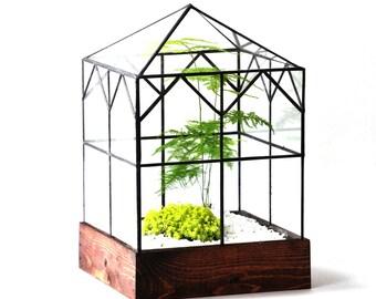 Large Terrarium Glass