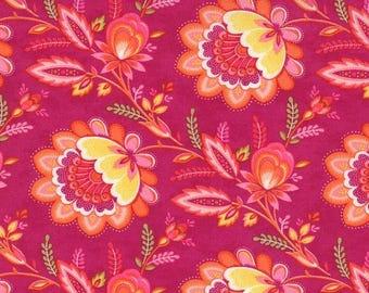 High Street Floral Brigitte Plum by Lily Ashbury - Moda Fabric BTHY