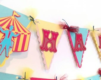 Carnival birthday banner, circus birthday banner, carnival birthday decorations, carnival theme party