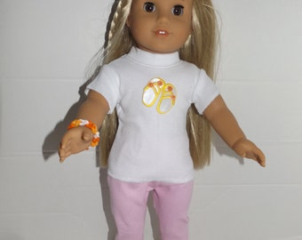 "For 18"" dolls such as American Girl Doll Clothes  4 Beach Piece Set"