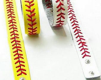 Baseball and Softball bracelets. Choose any TWO. Mix and match