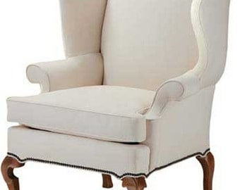 Wingback Chair Frame-Custom Made to Your Style, Cottage Style Furniture