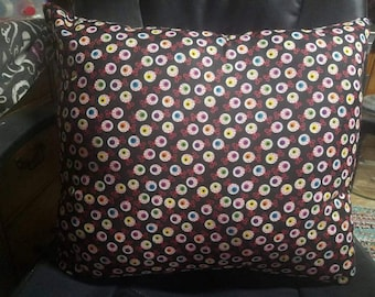 Gorgeous Handmade Large Eye Ball Decorative Pillow!!