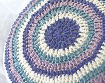 Instant Download - PDF- Round Cushion Crochet Pattern (H17)
