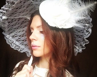 Witch's Hat - White