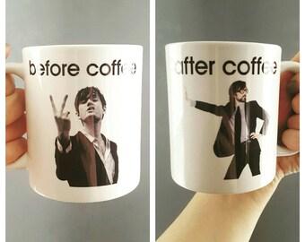 Jarvis Cocker - Pulp Britpop Themed Coffee Mug