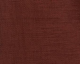 Solid Woven Rust - Upholstery Fabric By The Yard