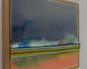Encaustic Painting Stratum 183