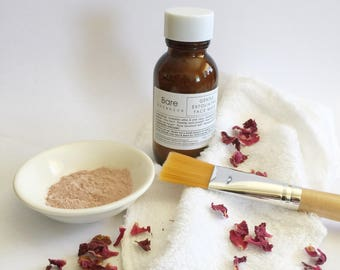 FACE MASK PAMPER Gift Box  | Gentle Exfoliating or Clear Detox Face Mask |
