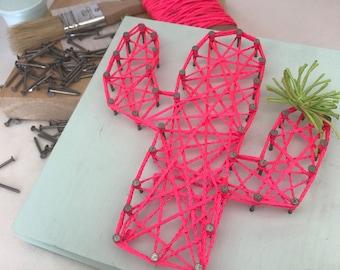 DIY trends: macramé and string art
