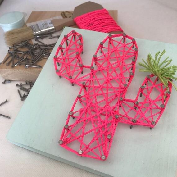 Diy string art kit craft kit gift for adults gift for for Craft kit for adults