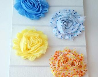 Sale Headbands - Newborn Photography Headband Set - Clearance Headbands - Preemie Headband - Baby Headbands - Skinny Elastic Headband Set