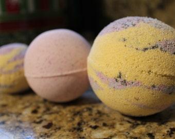 Bath Bombs, detox bombs, ALL Natural Bath Bombs! Crunchy Mom* organic*lush bombs, vaxx detox,bubblegum,cupcake,apple,galaxy,beer,blueberry